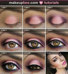 ojos rosado
