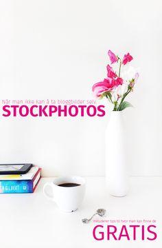 Det er ikke alltid man har tid til, eller klarer, å ta bildene selv til bloggen…