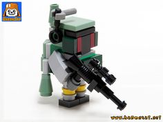 https://flic.kr/p/28Q7zP5 | Mini Bricks Boba Fett 02 | A few time ago I saw Legojalex MOTU figures and castle www.flickr.com/photos/78666052@N05/42921880311/in/datepos... I loved the figures so much that I  build these figures and display them on my shelves, thanks Johan.  But it's not finished the concept is too good and I need to build more figures from other lines. See my Flickr album:  www.flickr.com/photos/8107354@N03/albums/72157655513803282  www.baronsat.net