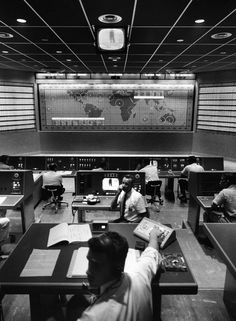 Mission Control, 1961