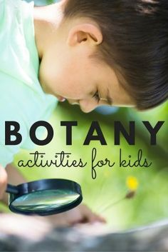 12 Rock Star Botany Activities for Kids