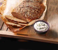 Rustikales Brot im Bräter - Brot selber backen