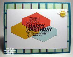 Masculine card using Tailored Tag punch from Stampin' Up!