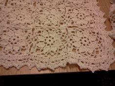 cortinas en macrame a crochet