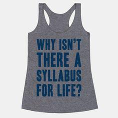 Why Isn't There A Syllabus For Life #school #highschool #syllabus #schoolhumor #sorry #life