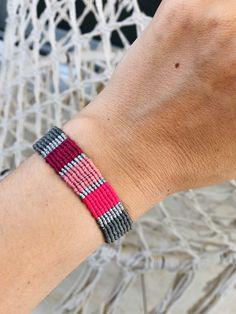 Macrame Rings, Macrame Jewelry, Macrame Bracelets, Love Bracelets, Diy Jewelry, Handmade Jewelry, Fashion Jewelry, Handmade Items, Hippie Style