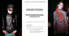 2016A/W exhibition. KEISUKEYOSHIDA RYOTAMURAKAMI  のブランドによる 2016A/W collectionの合同展示受注会を行います 会場 atelier SUNNY DAY 150-0001 渋谷区神宮前2-31-21ヴィアレット原宿002号室 http://ift.tt/1UTwABG 日時 3/29(Tue.)-4/3(Sun.) 11:00-19:00 どなたでもご来場頂けます #ryotamurakami #keisukeyoshida #東京ニューエイジ #tokyonewage #fashion #awai