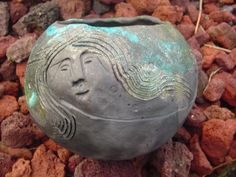 Makes me think of a Fire Goddess - perhaps Pele (goddess of volcanoes) or Brigid.
