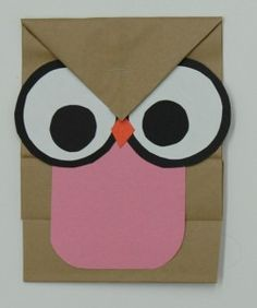 construction paper craft ideas | Materials Used: Paper Bags , Construction Paper , Scissors and Glue