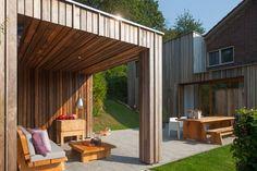 Wood-clad extension - News - Domus
