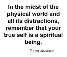 True Self ~ lifeinthenow.com