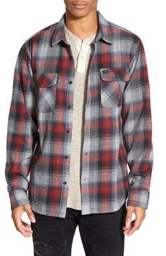 RVCA 'Highland Plaid' Regular Fit Long Sleeve Flannel Woven Shirt
