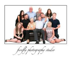 Probably the most childish, child free, large family group we had in the studio this year! Cheers for the giggles guys (and also, returning our sofa!) www.fireflyphotography.co.uk or follow us on FB: www.facebook.com/fireflyderby