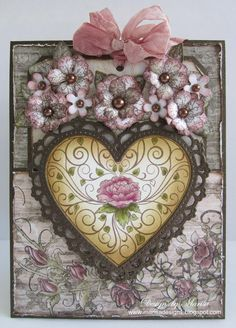 Designs by Marisa: Heartfelt Creations November Release - Pocket Card & Tag