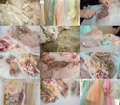 Beading couture high end fashion