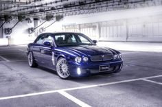 """The Japanese of Wald International presented the Black Bison based in Jaguar XJ Series X350 Sports Line. Black Bison Edition features new front and rear bumper, side spoiler, spoiler, LED daytime running lights and new caps in the side grilles mirrors. Rests on 21 """"wheels with tires measuring 255/30 front and 295/25 rear, while the mechanical changes found in the new ... Read More"""