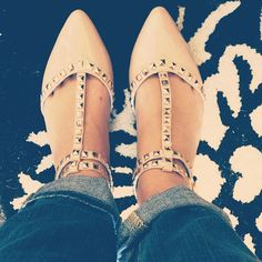Chloe scored these Rampage flats for $19.99! #maxxinista #shoes
