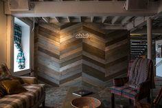 chevron wood wall - Google Search