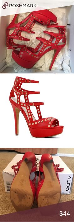 Yberaniel High Heel Platform Sandal In excellent condition- only worn  twice:) Very comfortable