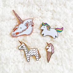 The 4 pins gang all makers are tagged.  Share with a friend who will want one  #unicorn#unicorns#unicorne#unicorni#unicorno#unicornio#unicornlife#unicornlove#unicornlovers#dream#dreams#dreamy#dreamunicorn#unicorndreams#photo#love#pinkart#pinklove#pinkdream#pinklover#art#arte#arts#pinklover#pin#pins#coolpin#art#stuff#coolstuff by weareallunicorns
