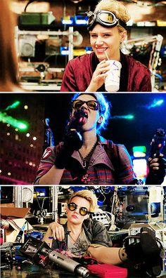 Kate McKinnon as Jillian Holtzmann in Ghostbusters (2016)                                                                                                                                                      More