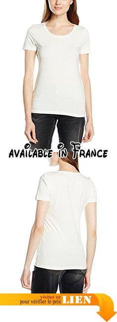 René Lezard T100S0050, T-Shirt Femme, Weiß (Cream 006), 36.  #Apparel #SHIRT