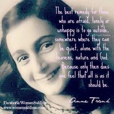Frase de Anne Frank | Literatura del siglo XX-Mirian G.E ...