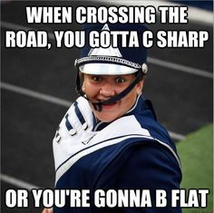 Music Jokes - Life throws you curves. Being prepared is everything. Are you DrumCorpsReady.com