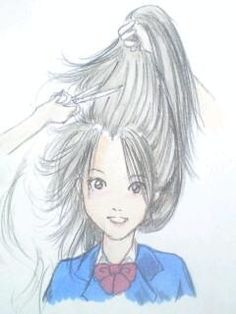 Long to extremely short hair 04 by on DeviantArt Deviant Art, Anime Haircut, Forced Haircut, Shaved Pixie, Bald Girl, Pop Culture Art, Pin On, Girl Haircuts, Short Blonde