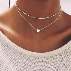 New Fashion Steampunk Dainty Circle Collier Jewelry Round Minimalist Chain Pendant Necklace For Women Jewelry Gift Cheap Collar - gold 317 Cute Jewelry, Jewelry Gifts, Women Jewelry, Fashion Jewelry, Heart Jewelry, Fashion Necklace, Choker Necklace Outfit, Jewelry Model, Jewelry Tools