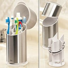 Sanitary toothbrush holder