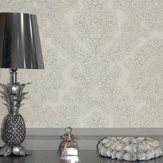 Arthouse Vicenza Damask Wallpaper - Cream - http://godecorating.co.uk/arthouse-vicenza-damask-wallpaper-cream-2/