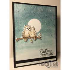Heartfelt Creations - Owls By Moonlight Project