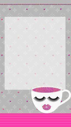 New Fashion Wallpaper Iphone Art Hello Kitty Ideas Makeup Wallpapers, Cute Wallpapers, Vintage Wallpapers, Vintage Backgrounds, Wall Wallpaper, Wallpaper Backgrounds, Iphone Backgrounds, Iphone Wallpapers, Farmasi Cosmetics