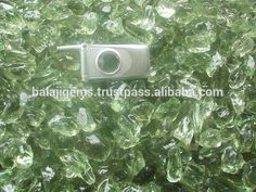 Wholesale Natural Green Amethyst Rough Gemstone