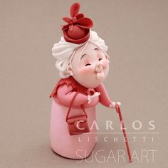 • LADY in PINK | SEÑORA de ROSA • . . . . #CarlosLischetti #arteenazucar #sugarart #animationinsugar #modeladoenazucar #fondant #fondantcake #cakeart #sugarcraft #cakedesign #Chef #cakedesigner #cakesofinstagram #instacake #cake #cakeinspiration #cakeart #ladyinpink #pink #rosa #damaderosa #abuela #grandmother