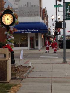 Main street, Columbus, NE