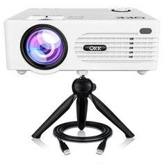 VANKYO Leisure 410 LCD Beamer LED Projektor 3000 Lux Lumen Kompatibel mit TV Stick 50000 Stunden Heimkino Beamer Full HD 1080P unterst/ützt HDMI VGA USB AV TF f/ür Smartphone Laptop,wei/ß