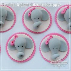 Image result for elephant face cupcakes