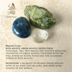 Shed the weight that holds you back with this Weight Loss Gemstone Trio.