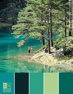 Deserted Island | Color Blocks Design