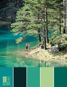 Deserted Island | Color Blocks Design