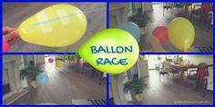 Ballon race: simpel om te maken en super leuk om te doen. Leuk voor kinderfeestjes. Lees hier hoe je hem maakt.