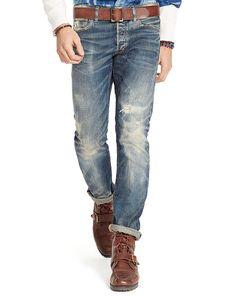 Varick Slim Straight Jean - Polo Ralph Lauren Slim-Straight - RalphLauren.com