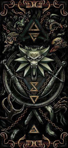 The Witcher 3, Witcher 3 Art, The Witcher Wild Hunt, Dark Fantasy Art, Dark Art, Sif Dark Souls, Witcher Tattoo, Witcher Wallpaper, Marshmello Wallpapers