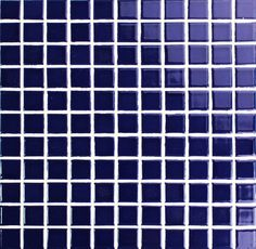 Bluwhale Tile euro style dark blue porcelain mosaic tile, ideal for hotel swimming pool projects and any architectual home designs. Pool Tiles, Mosaic Tiles, Mosaics, Hotel Swimming Pool, Blue Pool, Cobalt Blue, Euro, Dark Blue, Spa