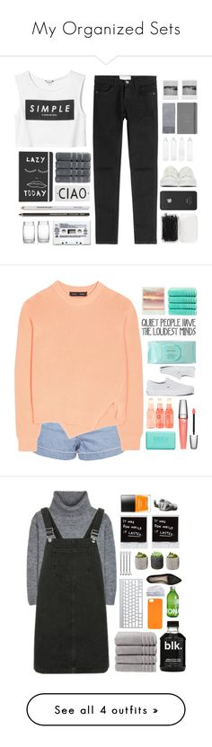 """""""My Organized Sets"""" by fashionlover2157 ❤ liked on Polyvore featuring Monki, Current/Elliott, Christy, Rosanna, Forever 21, Incase, Alexander McQueen, Seletti, M&S and Topshop"""
