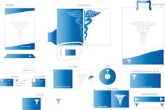 Corporate Identity package for Medical Businesses.