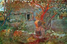 Les derniers rayons de soleil - (Carl Larsson)