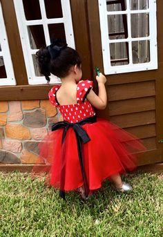 Minnie Mouse Dress Toddler Red Minnie Mouse Red by TitasBoutique Baby Girl 1st Birthday, 1st Birthday Outfits, Birthday Dresses, Disfraz Minnie Mouse, Mickey E Minie, New Baby Dress, Dress Girl, Pink Minnie Mouse Dress, Tutu Party